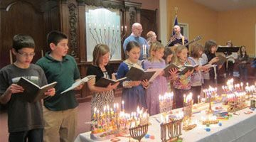 A Vibrant and Growing Jewish Congregation
